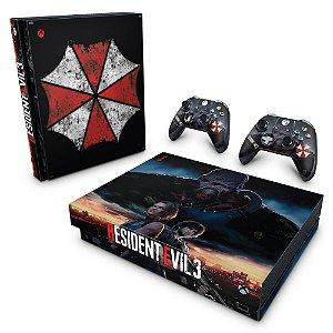 Xbox One X Skin - Resident Evil 3 Remake