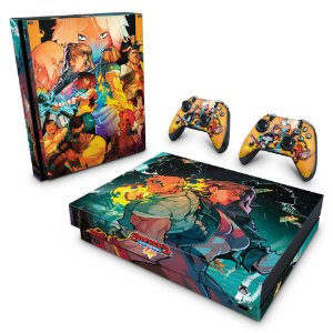 Xbox One X Skin - Streets of Rage 4
