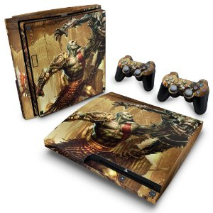 PS3 Slim Skin - God of War 3 #A