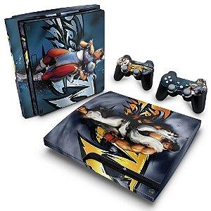 PS3 Slim Skin - Street Fighter 4