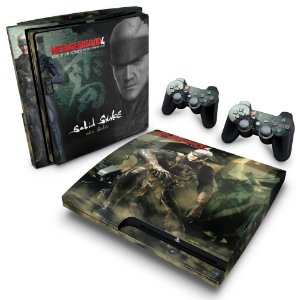 PS3 Slim Skin - Metal Gear Solid 4