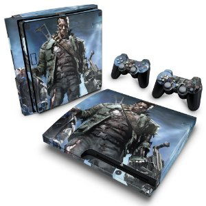 PS3 Slim Skin - Terminator 3 The Redemption