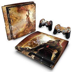 PS3 Slim Skin - God of War 2