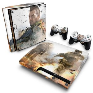 PS3 Slim Skin - Modern Warfare 2