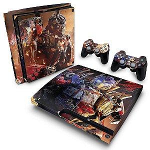 PS3 Slim Skin - Transformers Revenge of the Fallen