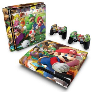 PS3 Slim Skin - Super Mario