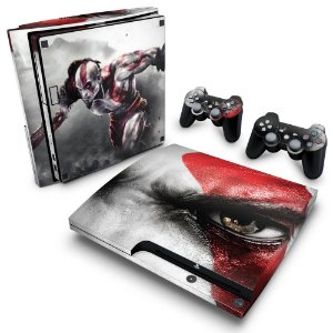 PS3 Slim Skin - God of War 3 #B