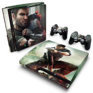 PS3 Slim Skin - Splinter Cell Conviction