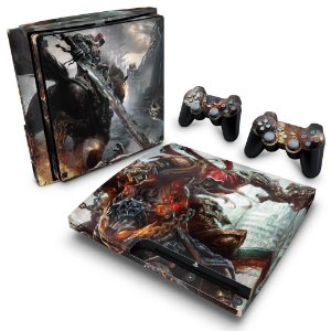 PS3 Slim Skin - Darksiders Wrath of War