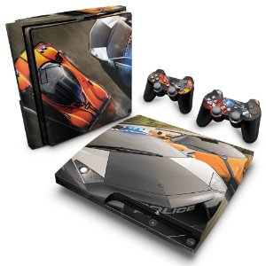 PS3 Slim Skin - Need for Speed Hot Pursuit