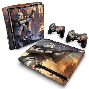PS3 Slim Skin - Star Wars Battlefront