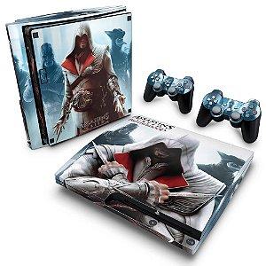 PS3 Slim Skin - Assassins Creed Brotherhood #C