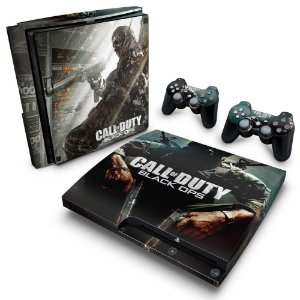 PS3 Slim Skin - Call of Duty Black Ops