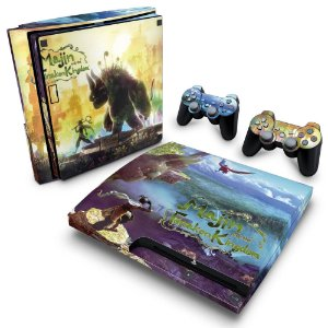 PS3 Slim Skin - Majin and the Forsaken Kigdom