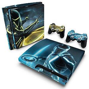 PS3 Slim Skin - Tron Evolution