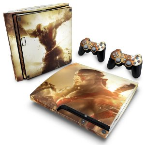 PS3 Slim Skin - God of War Ascension
