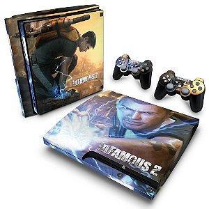 PS3 Slim Skin - Infamous 2