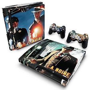 PS3 Slim Skin - L.A. Noire