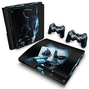 PS3 Slim Skin - Batman - The Dark Knight