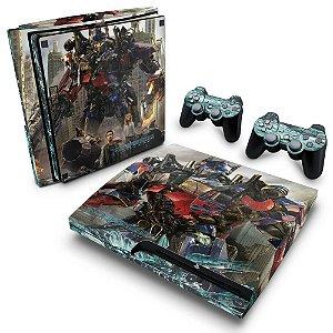 PS3 Slim Skin - Transformers Dark of the Moon