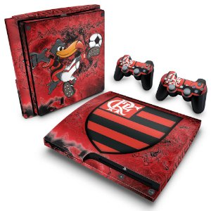 PS3 Slim Skin - Flamengo