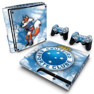 PS3 Slim Skin - Cruzeiro