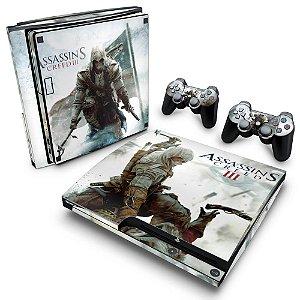 PS3 Slim Skin - Assassins Creed 3