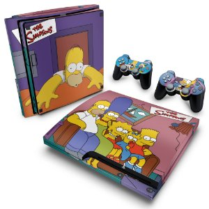 PS3 Slim Skin - The Simpsons