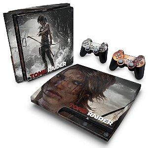 PS3 Slim Skin - Tomb Raider