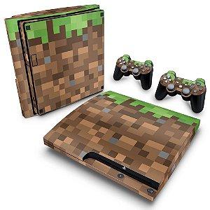 PS3 Slim Skin - Minecraft