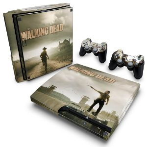 PS3 Slim Skin - The Walking Dead #B