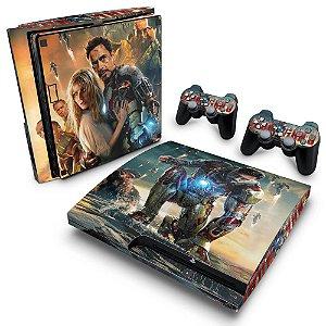 PS3 Slim Skin - Iron Man - Homem de Ferro #A