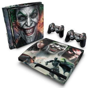 PS3 Slim Skin - Injustice