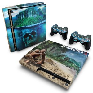 PS3 Slim Skin - Far Cry 3