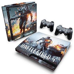 PS3 Slim Skin - Battlefield 4