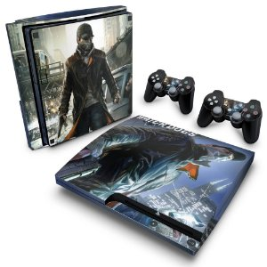 PS3 Slim Skin - Watch Dogs