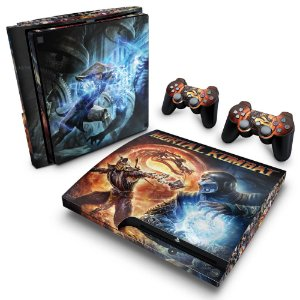 PS3 Slim Skin - Mortal Kombat #B