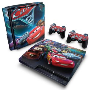 PS3 Slim Skin - Carros