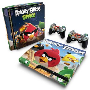 PS3 Slim Skin - Angry Birds