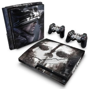 PS3 Slim Skin - Call of Duty Ghosts