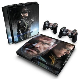 PS3 Slim Skin - Metal Gear Solid V