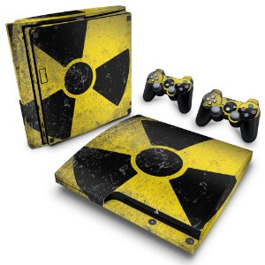 PS3 Slim Skin - Radioativo