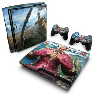 PS3 Slim Skin - Far Cry 4