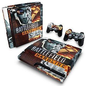 PS3 Slim Skin - Battlefield Hardline