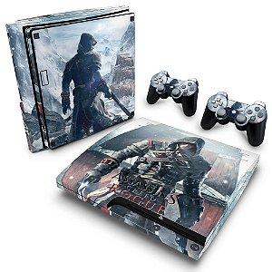 PS3 Slim Skin - Assassins Creed Rogue