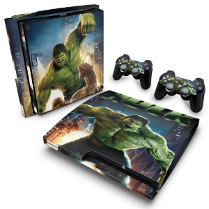 PS3 Slim Skin - Hulk
