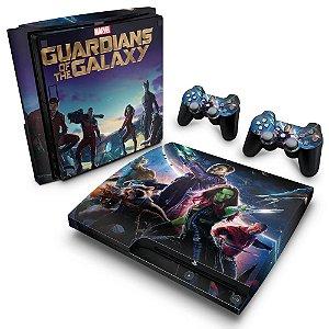 PS3 Slim Skin - Guardioes da Galaxia