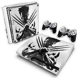 PS3 Slim Skin - Wolverine X-men