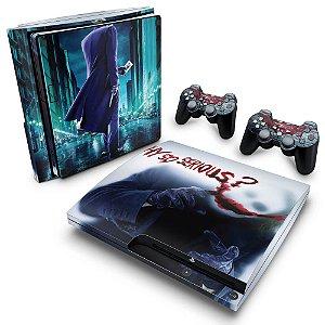 PS3 Slim Skin - Coringa Joker #A