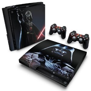 PS3 Slim Skin - Darth Vader